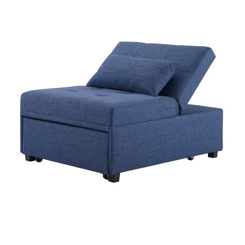 Wales Convertible Sofa Bed Blue - Powell Company