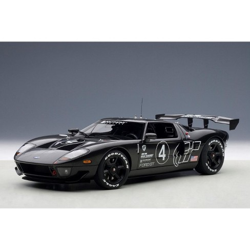 Ford Gt Lm Spec Ii Test Car Carbon Fiber Livery  Cast Model Car By Autoart