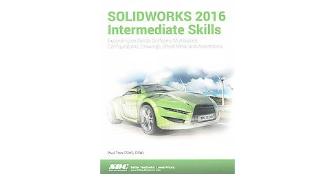 Solidworks 2016 Intermediate Skills : Multibody Solids, Surfaces & Patches, Lofts & Boundaries, Bottom - image 1 of 1