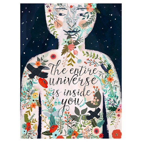 The Entire Universe 2 by Mia Charro Unframed Wall Art Print - image 1 of 2