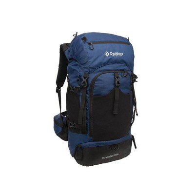 Outdoor Products Shasta 55L Technical Frame Backpack - Navy Blue
