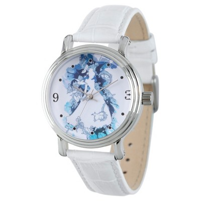 Women's Disney Princess Cinderella Rosegold Vintage Alloy Watch - Silver