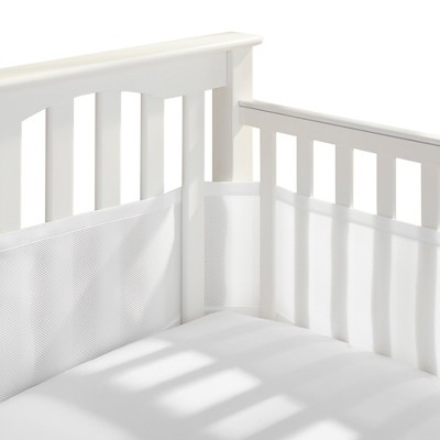 Breathable Baby® Solid Mesh Crib Liner - White