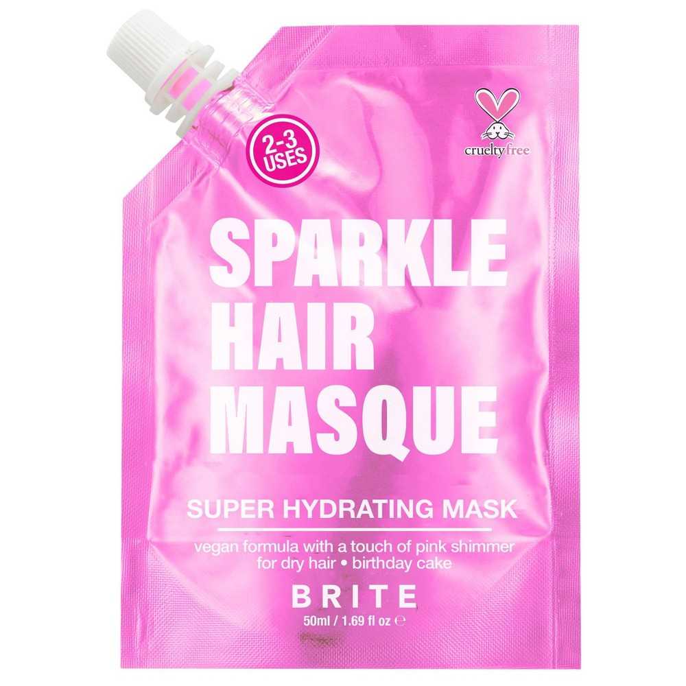 Image of Brite Glitter Hair Mask Pink - 1.69 fl oz