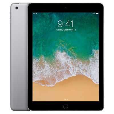 Apple® iPad 9.7  32GB Wi-Fi Only (2017 Model, 5th Generation, MP2F2LL/A)- Space Gray