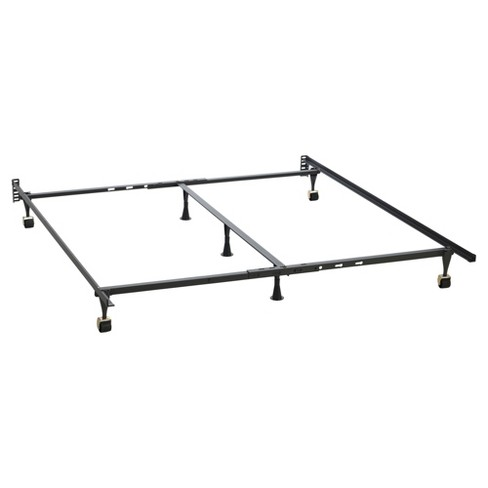 Bed Frame One Size Fits All Brown - Hollywood Bed Frame - image 1 of 3
