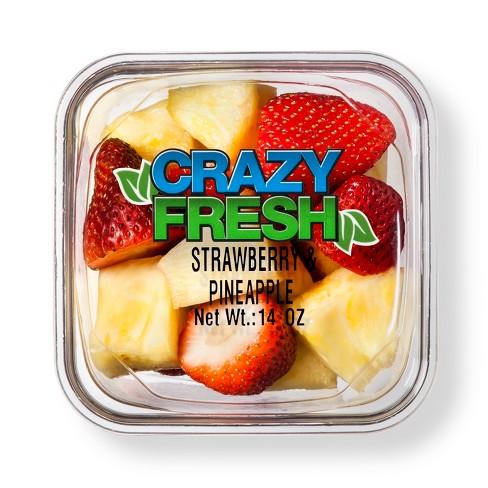 Cut Strawberry & Pineapple - 14oz - image 1 of 3