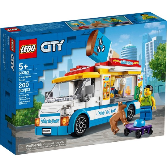 LEGO City Ice-Cream Truck 60253 Cool Building Set image number null