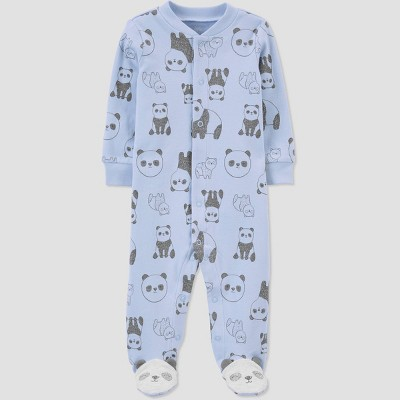 Baby Boys' Panda Sleep N' Play - Just One You® made by carter's Blue 3M