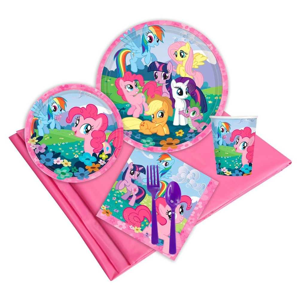 My Little Pony Friendship Magic 24 Guest Party Pk, Multicolored