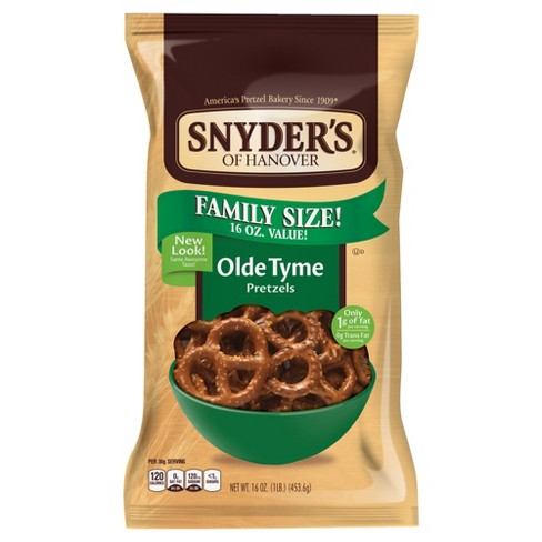Snyder's Of Hanover The Pounder Pretzels - Olde Tyme 16oz - image 1 of 2