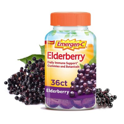 Emergen-C Elderberry Gummies - 36ct