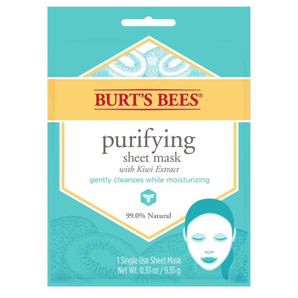 Burt's Bees Purifying Sheet Mask Single Use - 1ct
