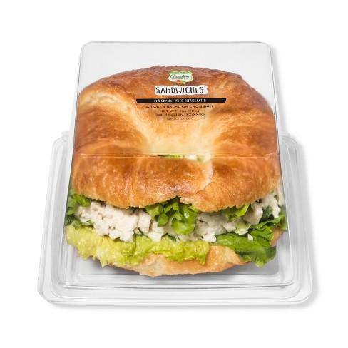 Fresh Garden Highway Signature Chicken Salad on Croissant Sandwich - 8oz - image 1 of 1