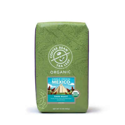 Coffee Bean and Tea Leaf Mexico Organic Ground Dark Roast Coffee - 12oz
