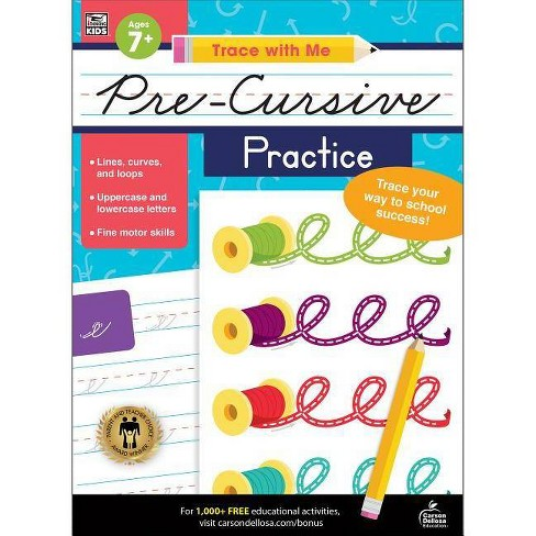 Trace with Me Pre-Cursive Practice - (Paperback) - image 1 of 1