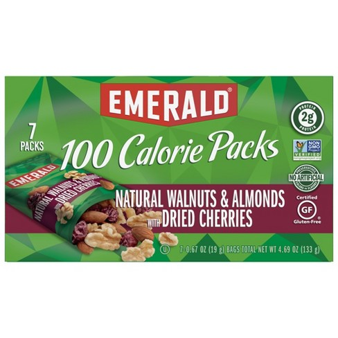 Emerald Natural Walnuts & Almonds with Dried Cherries Packs - 4.69oz - image 1 of 2