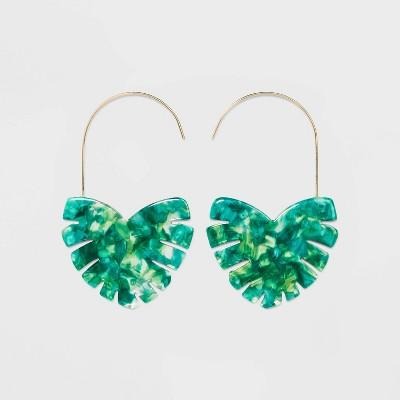Sugarfix By Bauble Bar Modern Heart Drop Earrings by Sugarfix By Bauble Bar