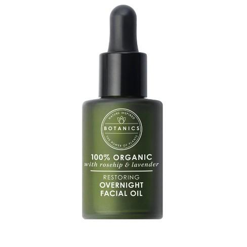 Botanics Restoring Overnight Facial Oil - 0.84 fl oz - image 1 of 4