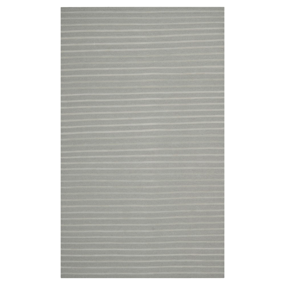 Rana Dhurry Rug - Grey - (8'x10') - Safavieh, Gray