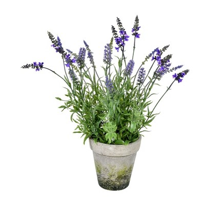Vickerman Artificial Lavender Topiary