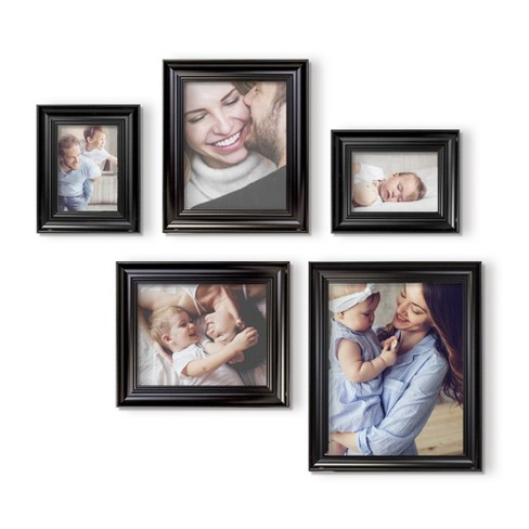 Frame Set 5pc Black  - QIK FRAME™ - image 1 of 6
