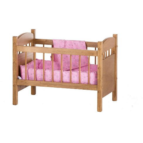 Remley Katie's Collection Kids Wooden Doll Crib Playset - Ships Assembled - Ships Assembled - image 1 of 4