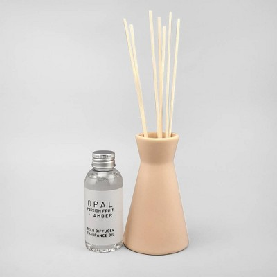 3.4oz Oil Diffuser Opal - Passion Fruit & Amber - Project 62™
