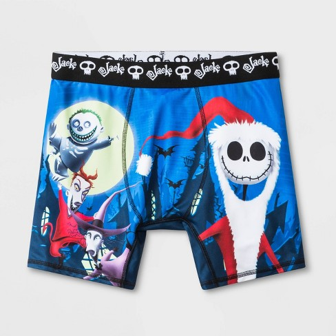 Men's The Nightmare Before Christmas Boxer Briefs - Black - image 1 of 3