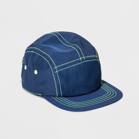 Boys' Mesh Baseball Hat - Cat & Jack™ Navy - image 1 of 2