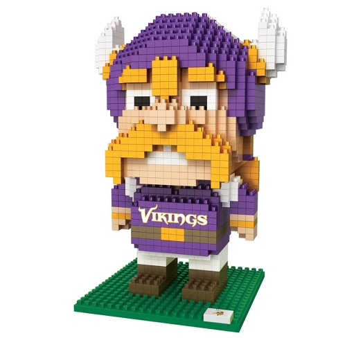 NFL Minnesota Vikings BRXLZ Mascot Figure 1000pc - image 1 of 1