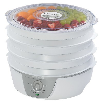 Presto® Dehydrator w/Adjustable Temp- 06302