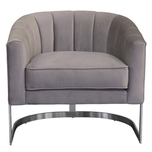 Armen Living Paloma Contemporary Accent Chair
