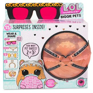 L.O.L. Surprise! Biggie Pets - MC Hammy Mini Backpack