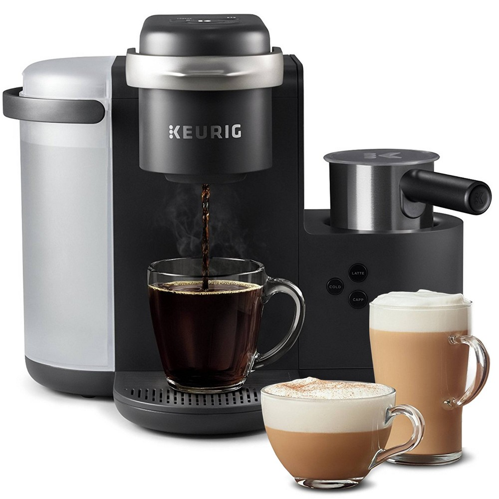 Keurig K-Cafe Charcoal, Combination Espresso and Coffee Makers