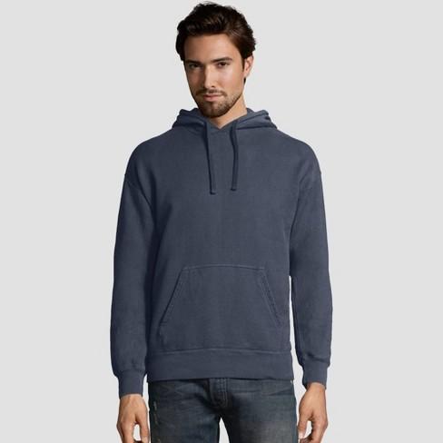 Hanes Men's Comfort Wash Fleece Pullover Hooded Sweatshirt - image 1 of 2