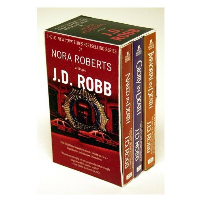 J.D. Robb Box Set - by  J D Robb (Paperback) - image 1 of 1