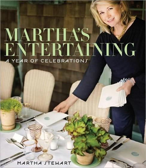 Martha's Entertaining : A Year of Celebrations (Hardcover) (Martha Stewart) - image 1 of 1
