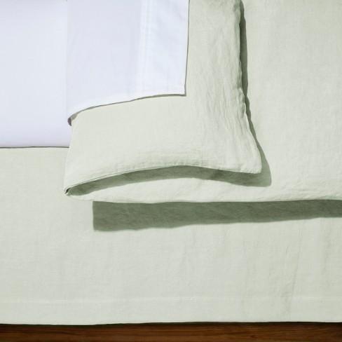 Silver Springs Linen Bed Skirt California King Fieldcrest Target