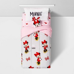Minnie Mouse Twin Bed In A Bag Gray