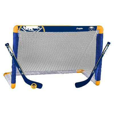 Franklin Sports NHL Buffalo Sabres Mini Hockey Set
