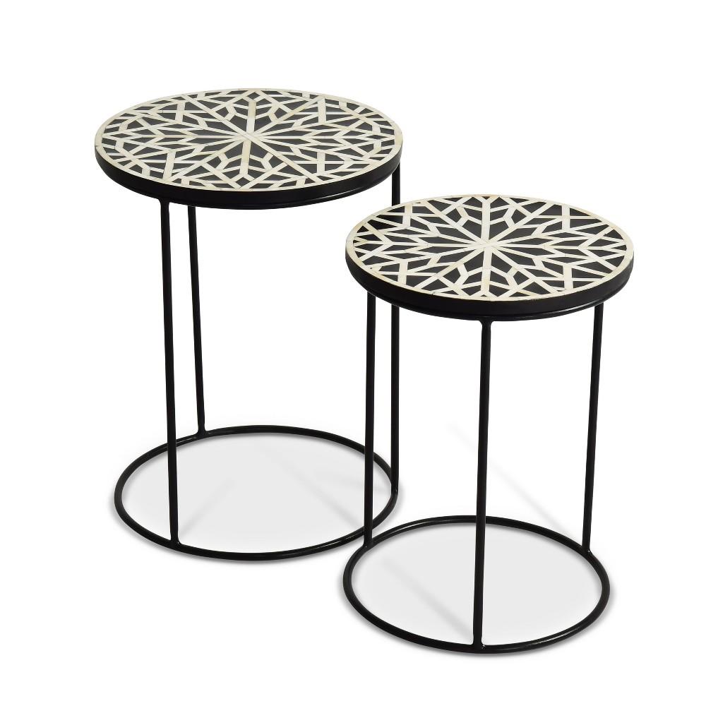 Amisha Round Nesting Tables Steve Silver