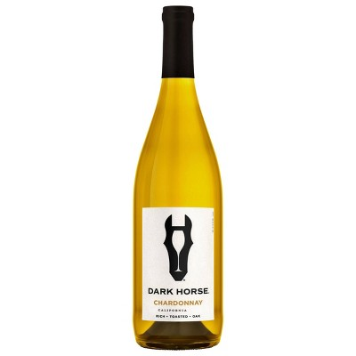 Dark Horse Chardonnay White Wine - 750ml Bottle