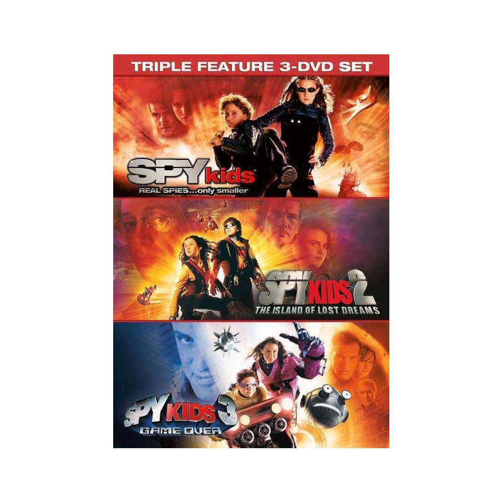 Spy Kids 3 Movie Collection Dvd