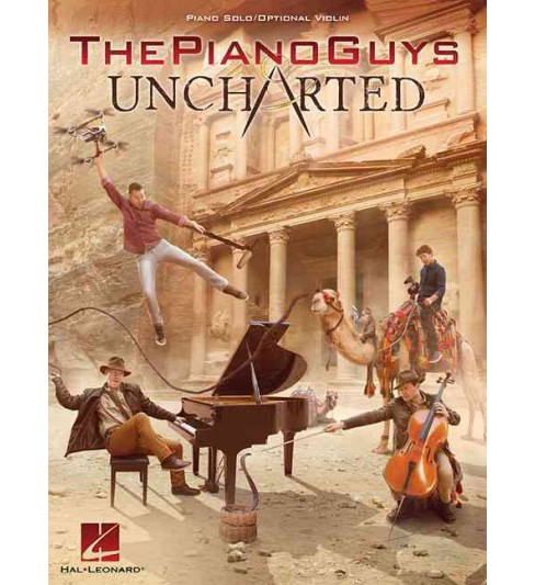 Uncharted : Piano Solo / Optional Violin (Paperback) - image 1 of 1