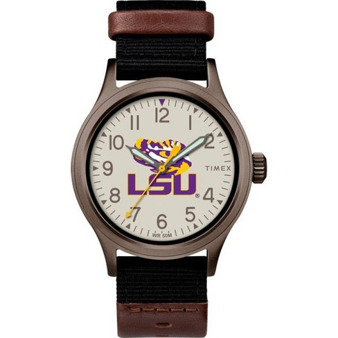 NCAA LSU Tigers Tribute Collection Clutch Men's Watch - image 1 of 1