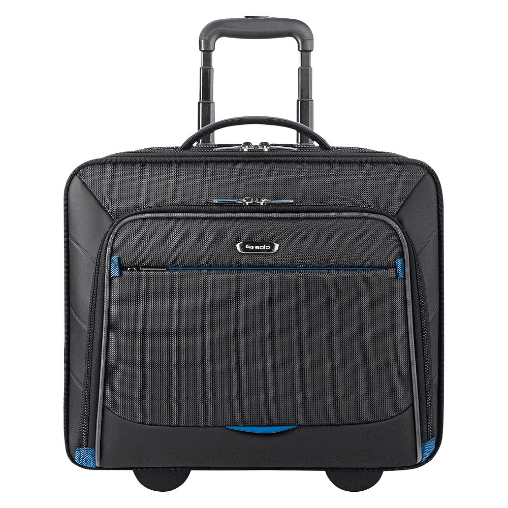 "Image of ""Solo Active Tech 16"""" Rolling Suitcase - Black"""