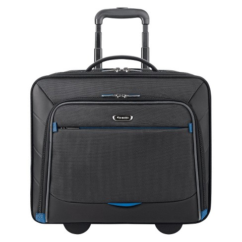 """Solo Active Tech 16"""" Rolling Suitcase - Black - image 1 of 4"""