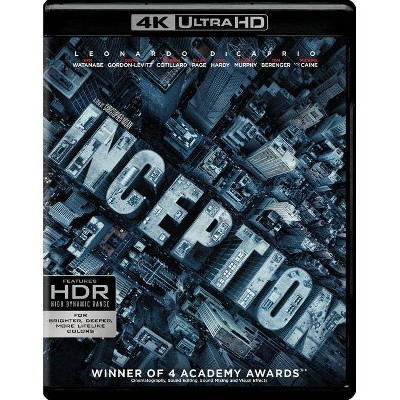 Inception (4K Ultra HD/BD)(4K Ultra HD)