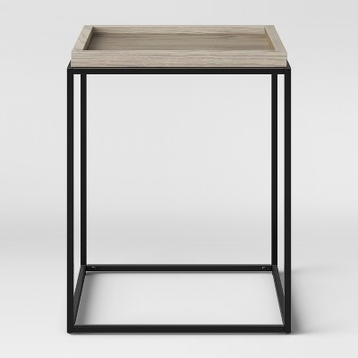 Bennington Mixed Material End Table - Threshold™
